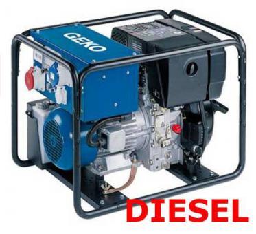 GEKO Stromerzeuger DIESEL 7801 ED-AA/ZEDA