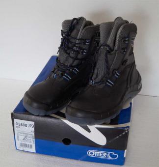 Arbeitsschuhe OTTER Spezialisten Winter Stiefel S3 CI WR 93680