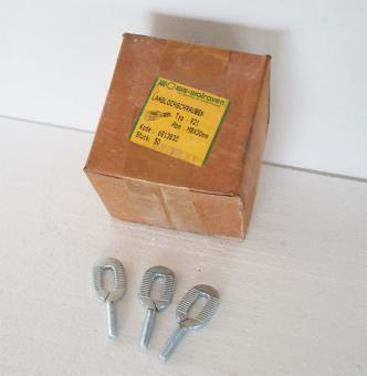 Langlochschrauben M8 x 30 verzinkt | 1 Posten zu 400 Stk.