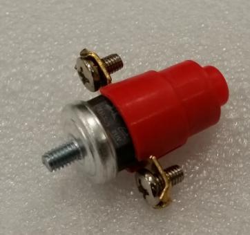 Thermoschutz für Wechselstrom-Kabeltrommel mit Gewinde